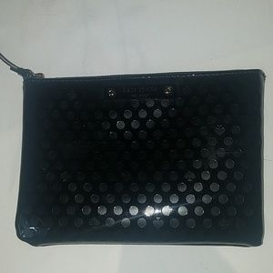 Kate Spade Black Patent Leather Pouch